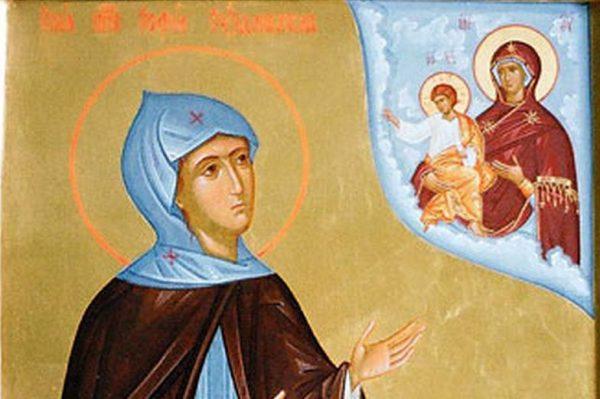 Церковь чтит память преподобной Софии Суздальской