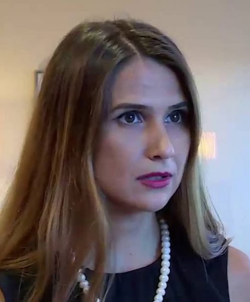 Сабина Гулиева. Фото: CBC.AZ/youtube.com