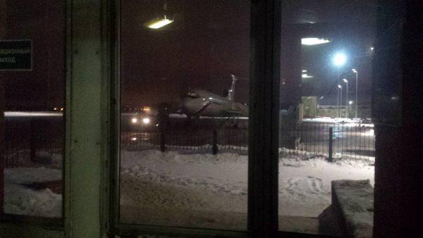 Фото самолета. Его снял Евгений Толстов перед полетом