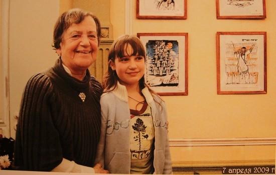 Лилия Николаевна с внучкой
