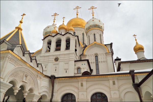 Зачатьевский монастырь. Фото: anashina.com