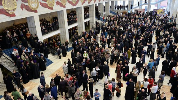 Патриарх открыл вКремле Рождественские чтения остолетии революции