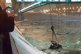 Инспектор ДПС спас из Москвы-реки тонущую в авто девушку