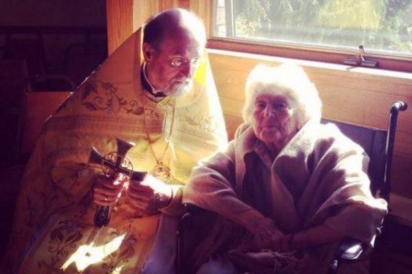 Скончалась Ульяна Шмеман, супруга протопресвитера Александра Шмемана