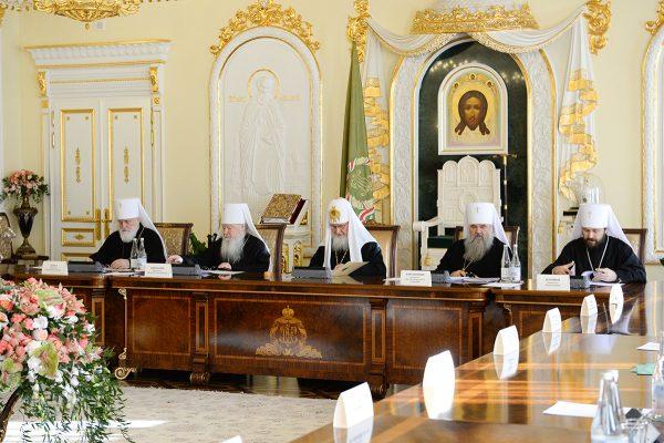 Изменена структура комиссий Межсоборного присутствия