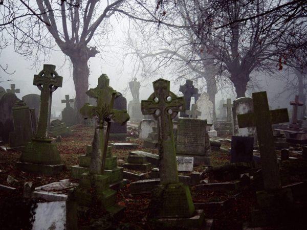 картинки кладбищ