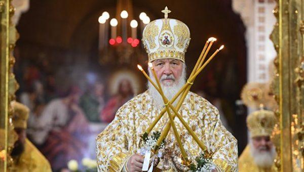 Патриарх Кирилл пожелал верующим всегда чувствовать в сердце присутствие Бога