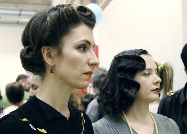 Аня Десницкая, Александра Литвина на выставке Non/fiction