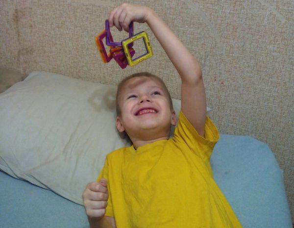 Грише семь лет