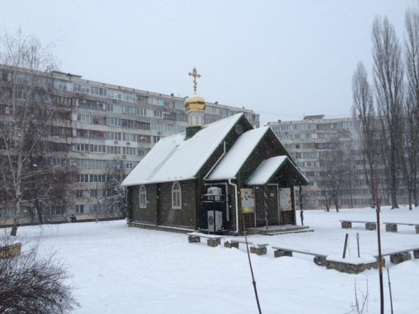 Храм Московского патриархата в Киеве закидали «коктейлями Молотова»