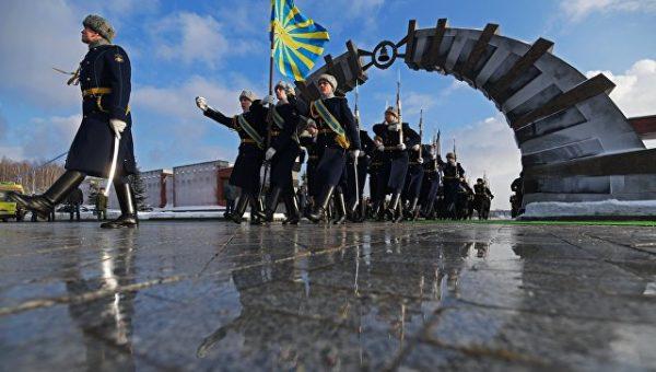 Навоенном кладбище вПодмосковье прошли похороны 47 жертв крушения Ту-154