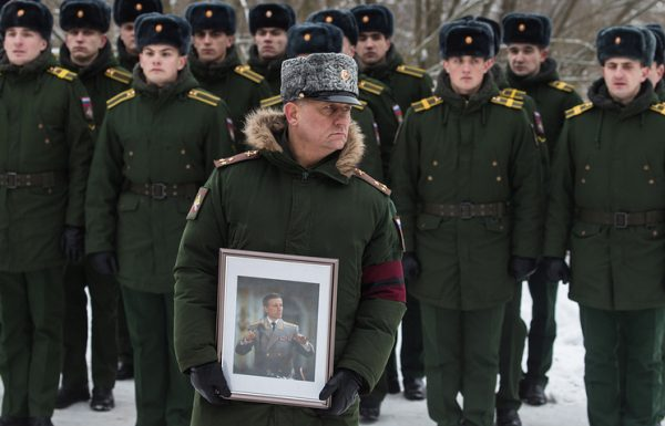 Во Владимирской области похоронен главный военный дирижер России Валерий Халилов