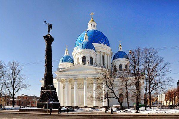ВПетербурге закончили основные работы по реконструкции Троицкого храма