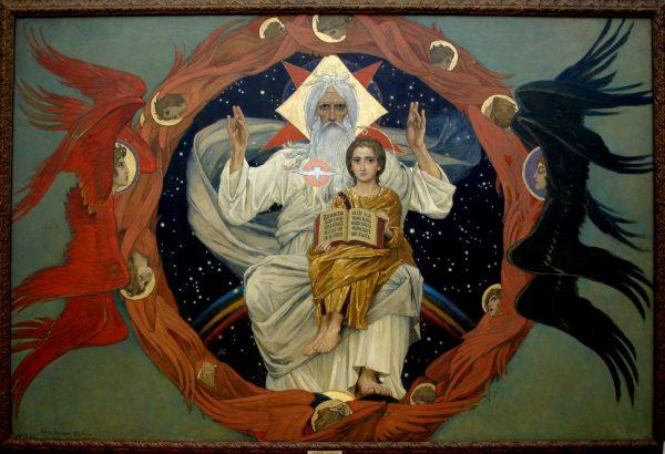 Виктор Васнецов. Отечествие (Отечество). 1907. Холст, масло