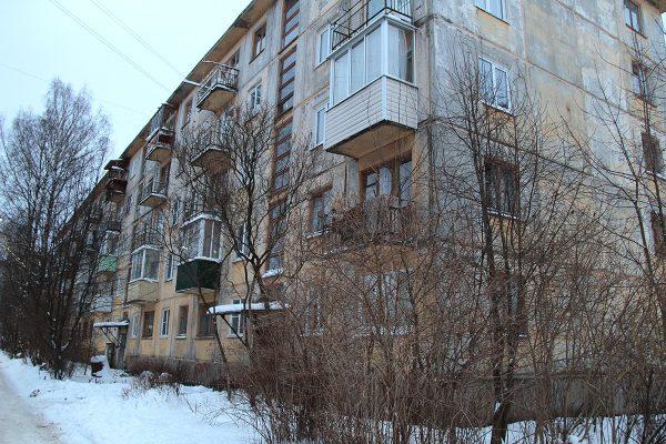 Дом, где живет Галина