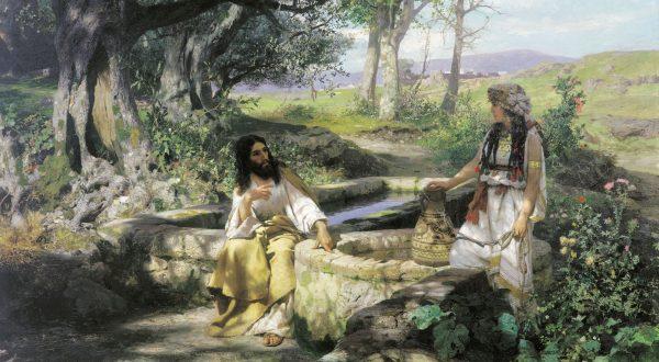 Генрих Семирадский. «Христос и самарянка»