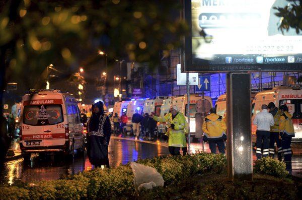 Теракт в Стамбуле: В ночном клубе погибло 39 человек