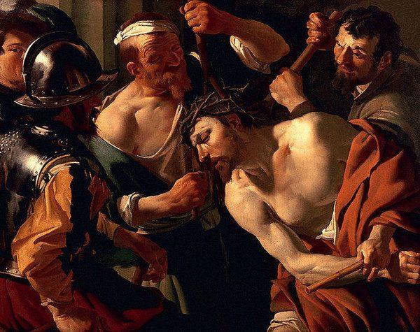 """Дирк ван Бабюрен """"Христос в терновом венце"""" 1623 год"""
