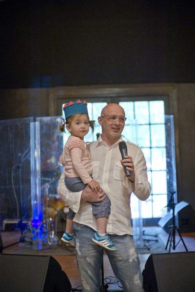 Алексей Мошкович с дочерью