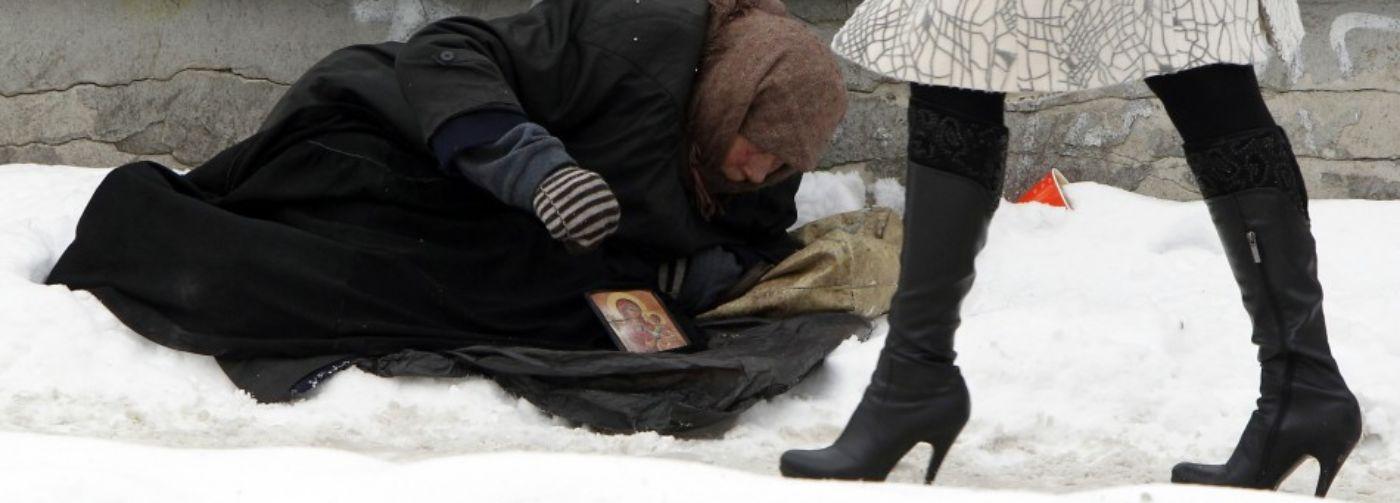Если человек лежит на улице в мороз — что делать?