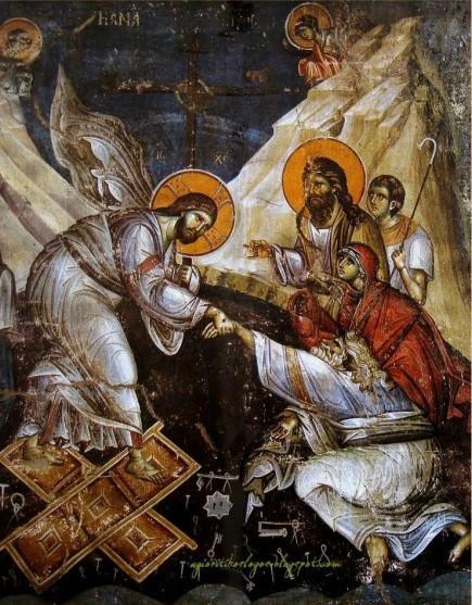 Воскресение Христово. Фреска