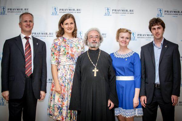 Алексей Коровин, Анна Данилова,отец Александр Ильяшенко, Мила Геранина, Максим Власов