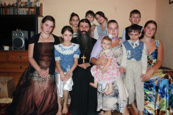 Семья отца Максима
