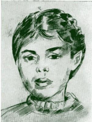 Ксения Некрасова. Художник Роберт Фальк