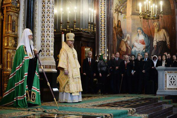Патриарх Кирилл назвал революцию 1917 года «великим преступлением»