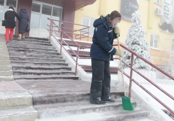 Роструд напомнил о правилах работы на морозе