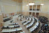 Петербургский парламент обвинил участников акции в Исаакиевском соборе в оскорблении чувств верующих