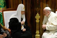 Легойда: встреча Патриарха и Папы Римского способствовала защите христиан на Ближнем Востоке