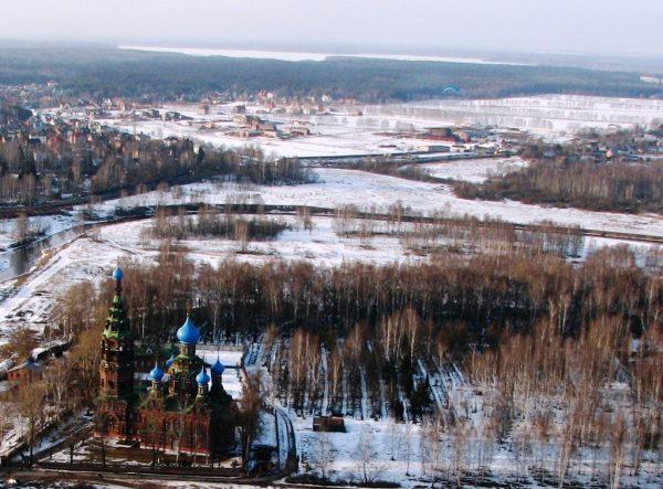 Власти помогут восстановить после пожара Покровский храм в Черкизове