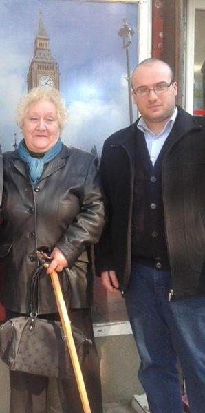 Галина Петровна и Константин Церцвадзе