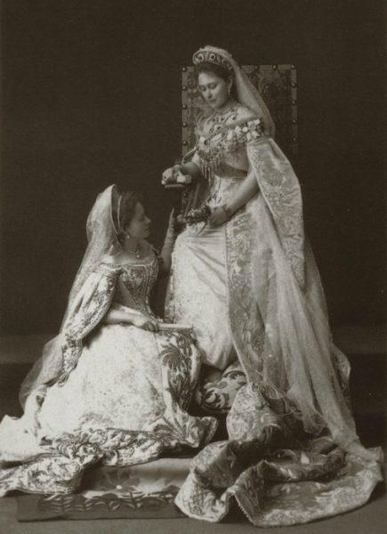 Александра Феодоровна и Елизавета Феодоровна