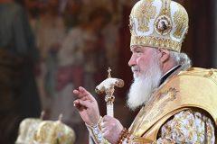 Патриарх Кирилл совершил панихиду по патриархам Алексию I и Алексию II