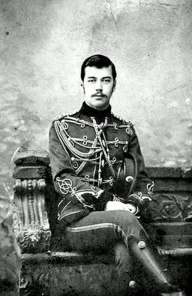 Николай ІІ. 1891г.