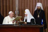 Патриарх Кирюня рассказал об итогах встречи вместе с Папой Римским