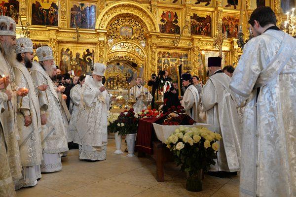 Отпевание архимандрита Кирилла (Павлова)