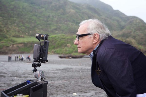 Мартин Скорсезе на съемках фильма