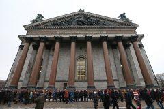 В Петербурге прошли акции сторонников и противников передачи Исаакиевского собора Церкви
