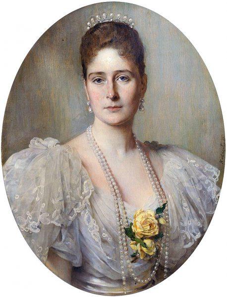 Алиса Гессенская (1896/1897). Художник Heinrich von Angel