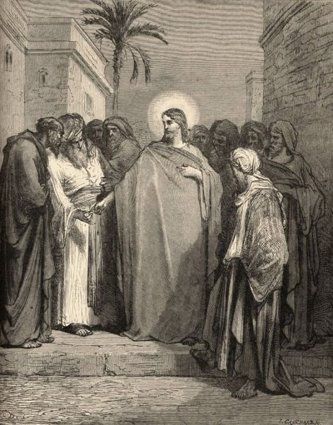 Христои и фарисеи. Гравюра Гюстава Доре