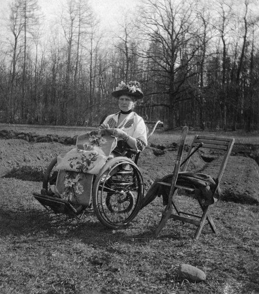 Александра Феодоровна. Царское Село, 1917 год