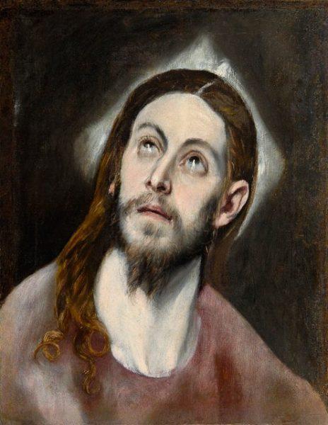 """""""Голова Христа"""". Эль Греко"""