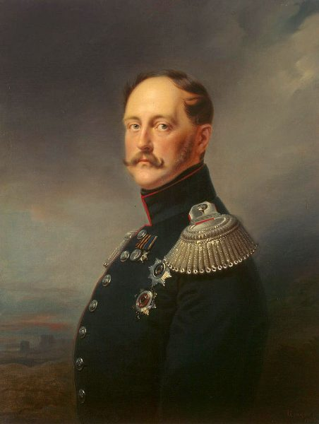 Николай I. Художник Франц Крюгер