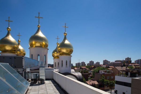 Православный храм в Мадриде. Фото: Анна Данилова