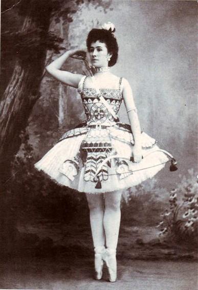 Матильда Кшесинская (фото сделано между 1898 и 1899 гг )
