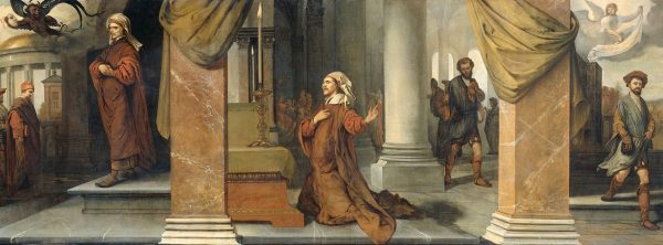 "Картина Барента Фабрициуса ""Фарисей и мытарь"", 1661 год."