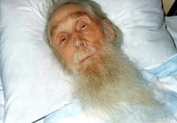 Старец Кирилл (Павлов). Фото января 2015 монахини Евфимии (Аксаментовой)